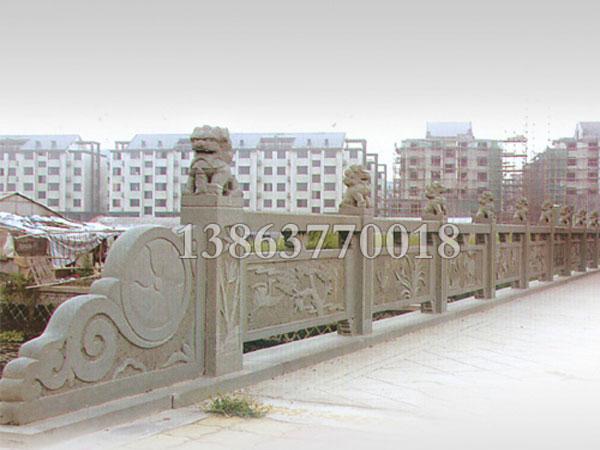 桥栏杆的施工方法