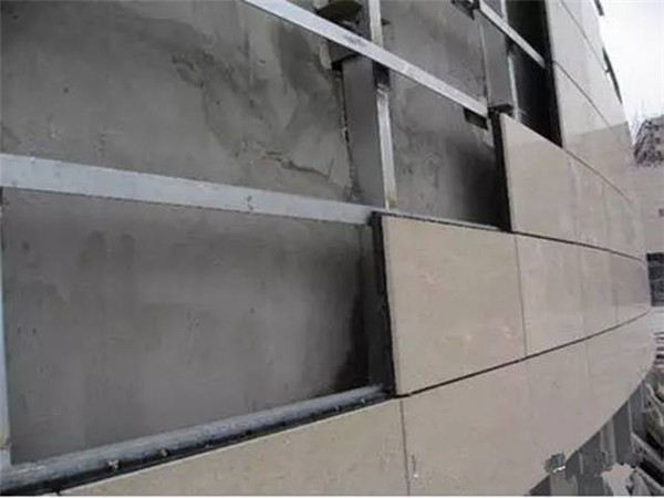 石板幕墙安装设计
